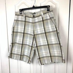 BKE Bermuda Flat Front Shorts